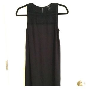 Black sleeveless sundress
